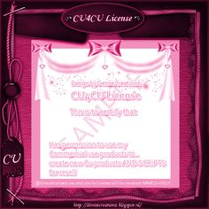CU4CU License [Denise Creationz] - $10.00 : , Exclusive Scrapping Divas