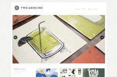 twoarmsinc web design