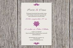 Elegant Wedding Invitation, Wedding Invitation, Lilac Wedding Invitation Lilac Wedding Invitations, Purple Wedding Stationery
