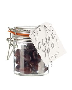 Show guests your appreciation by sending them home with a special gift. Attach these adorable tags to glass jars packed with pitted olives.Print the Olive Label Clip Art