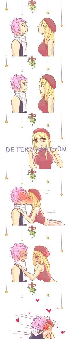 Under the Mistletoe by hazu-i on DeviantArt
