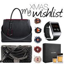 """My Xmas wishlist"" by giomorimilano on Polyvore #polyvore #xmas #wishlist #fendi #chanel #dg"