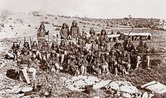 Captain Emmett Crawford's Apache scouts who followed him deep into Mexico in pursuit of Geronimo. Yet distrust of the Apaches was so deeply rooted in the Mexican troops that volunteers from Chihuahua attacked Crawford and his men in November 1885, resulting in Crawford's death.