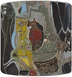 Gerard Dillon (1916-1971) ABSTRACT LANDSCAPE