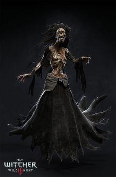 ArtStation - The Witcher III - Nightwraith, Marcin Blaszczak Fantasy Images, Fantasy Rpg, Medieval Fantasy, Dark Fantasy Art, Witcher Art, The Witcher 3, Fantasy Creatures, Mythical Creatures, Witcher 3 Characters