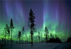 Northern Lights, Arctic Sweden