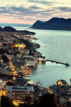 Alesund, Norway I've heard so many good things about trips to Norway, definently on my bucket list.