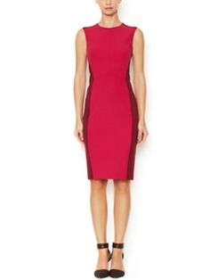 Stretch Colorblocked Sheath Dress from Narciso Rodriguez on Gilt