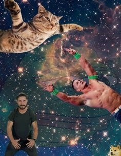 I HAVE FOUND DOGE, PEPE, SHIA, JOHN CENA, AND SPACECATS!!!! THIS IS THE DANKEST OF MEMES!!!!