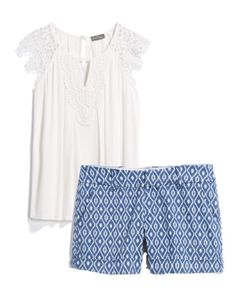 Cute summer vacation outfit