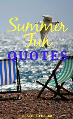 "The post ""Take some motivation from some happy summer fun quotes that embody the season perfectly in words that you can share with others. Quotes About Summer Teen Quotes, Motivational Quotes For Life, Quotes For Kids, Family Quotes, Quotes Quotes, Funny Quotes, Summer Quotes Summertime, Happy Summer Quotes, Summer Fun"