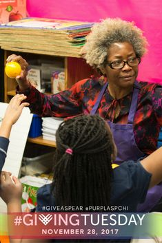 #GivingTuesday is just a few days away!   This Tuesday, share why you #GiveASpear and show your support for Purple Asparagus 'Delicious Nutritious Adventures'. Join the Purple Asparagus community in bringing more #FoodEducation programs to #Chicago schools next year and help spread the word!  Find out what our teachers, parents, and students are saying about Purple Asparagus: http://bit.ly/2zQwzdG  💜 Give 💜 here: http://bit.ly/2ziNaXm #Food #Nutrition #Kids #Parents #Teachers…