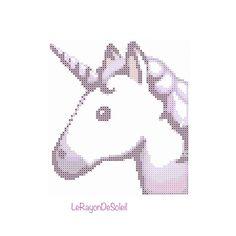 Un favorito personal de mi tienda Etsy https://www.etsy.com/listing/262459538/modern-cross-stitch-pattern-unicorn