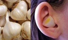 Clove of garlic for ear infections and other at home remedies Natural Health Remedies, Natural Cures, Herbal Remedies, Natural News, Garlic In Ear, Garlic Clove, Garlic Oil, Health And Nutrition, Health Tips