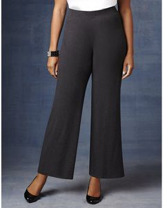 AnyWear Wide Leg Pant | Catherines