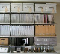 organizing a workspace