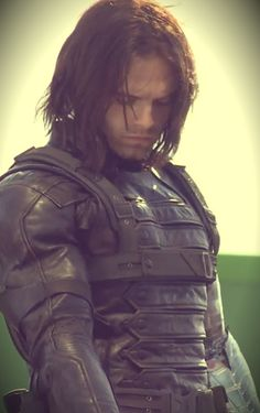 Good shot of the front of the Winter Soldier costume. Now how do I turn a plain vest into this? x.x