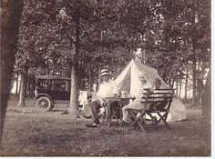 Ole time camping