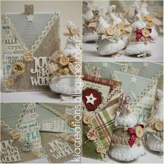 Kia creations: Le mie cards di Natale