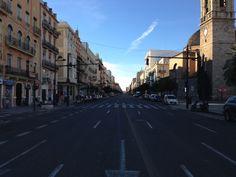 avenida del puerto .valencia-españa