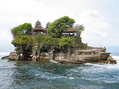 Gorgeous Places in Bali Tanah Lot Temple Kuta Beach and Gigit Waterfall