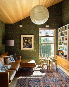 Home Studio, Architectural Digest, Home Renovation, L Wallpaper, Em Henderson, Empty Wall Spaces, Aesthetic Design, Architecture, Interior Inspiration