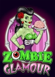 Cool rockabilly zombie art (would make an awesome tattoo). Description from pinterest.com. I searched for this on bing.com/images