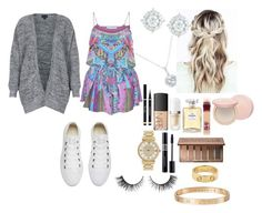 """""""School 90"""" by ella-goodness on Polyvore featuring Converse, Yves Saint Laurent, NARS Cosmetics, Cartier, Michael Kors, Rimini, Marc Jacobs, Chanel, Christian Dior and Urban Decay"""