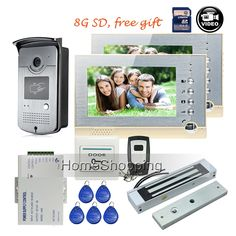New Arrival Wired Video Door Phone Intercom System Withrecording Function