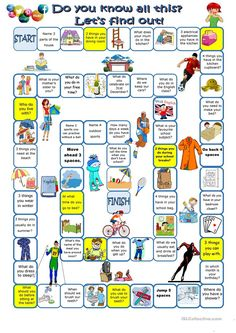 Do you know all this? Let's find out worksheet - Free ESL printable worksheets made by teachers