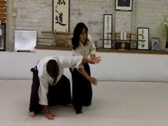 Aikido martial arts Sankyo Ginny Breeland - YouTube