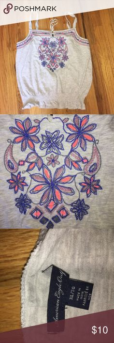 AMERICAN EAGLE WOMENS XL TANK TOP AMERICAN EAGLE WOMENS XL TANK TOP!! EXCELLENT!! American Eagle Outfitters Tops Tank Tops