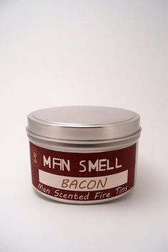 Image of Man Smell Fire Tin - Bacon