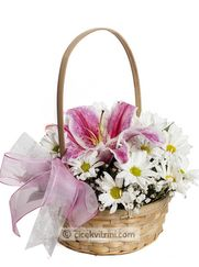 çiçek sepeti Ankara çiçek siparişi http://www.cicekvitrini.com/cicekler/ankara-cicek-gonder