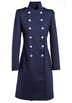 fashion, navi doubl, cloth, longlin wool, breast longlin, wool coat, navy, doubl breast, coats
