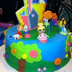 Lalaloopsy Cake cake idea, lalaloopsi cake