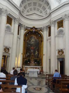 De eerste kerk in Rome, De San Carlino!