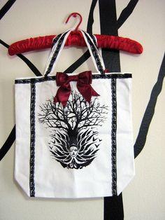 Nightmare Queen Tote Bag by TruleeDarling on Etsy, $18.00