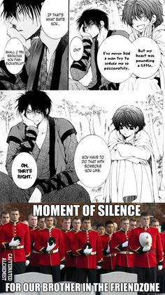 Akatsuki No Yona - Hak Friendzoned by caffeinatedalchemist on DeviantArt - Bahahahaha...poor Hak!