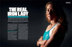 Chrissie Wellington 3 time consecutive Ironman champion