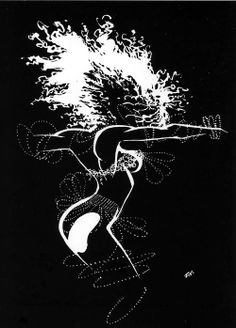 Back cover illustration by Frank Miller from Sin City: Sex & Violence, published by Dark Horse Comics, March 1997.