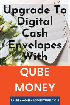 Love the idea of the cash envelope system, but hate dealing with cash? Check out our latest post to learn how to upgrade to a digital cash envelope system with Qube Money. via @familymoneyadventure Online Savings Account, Cash Envelope System, Cash Envelopes, Money Saving Tips, Money Tips, Making A Budget, Budgeting 101, Saving For Retirement, Money Matters