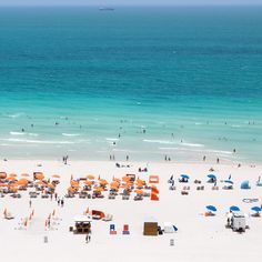 Waterfront parties abound along the coasts of #Miami's South Beach.