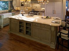 Rustic Huggy Bear Kitchen By Counter Connections