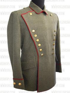 Replica of German WWI the Royal Bavarian 4th Chevaulegers Regiment M1910 Tunic for Sale