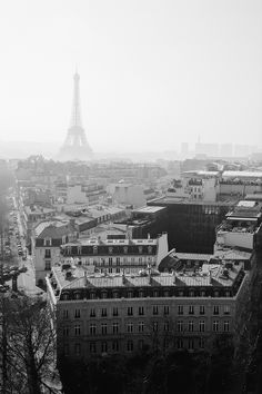 {Paris in black and white}