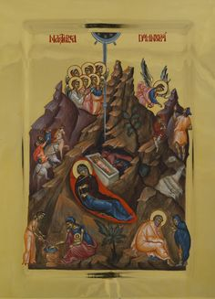Visit the post for more. Orthodox Icons, Nativity, Painting, Gabriel, Christmas, Xmas, Archangel Gabriel, The Nativity, Painting Art