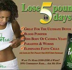Lose 5 lbs in 5 days 100% Organic Tea Iaso www.totallifechanges.com/3114591