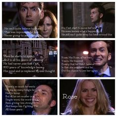 The Doctor and Rose, I love them!