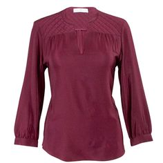 Quilted Silk Shirt for only $58.00   #mulberrymusefashion #autumncolors #fallfashion